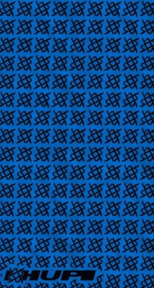 Bandana Hupi Simbol Azul