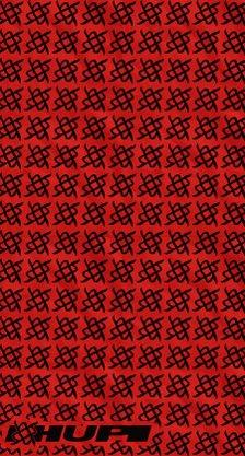 Bandana Hupi Simbol Vermelho