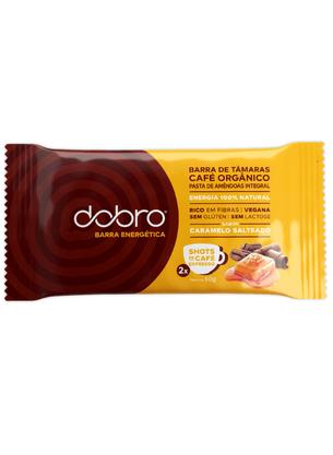 Barra Energética de Caramelo Salteado (50g) - Dobro