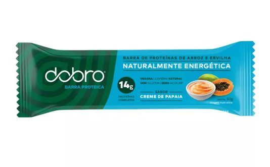 Barra Energética Dobro Creme De Papaya 50G