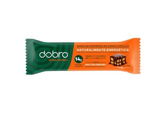 Barra Proteica Dobro - Bolo de Cenoura