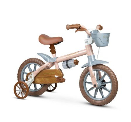 Bicicleta Aro 12 Antonella Baby Rosa