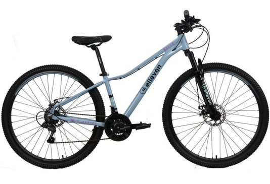 Bicicleta Elleven Belle Alumínio Aro 29 Freios À Disco Mecânico 21V