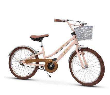 Bicicleta Infantil Feminina Aro 20 Antonella Rosa Nathor