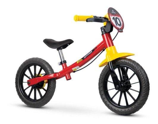 Bicicleta Infantil Balance Aro 12 Fast Nathor