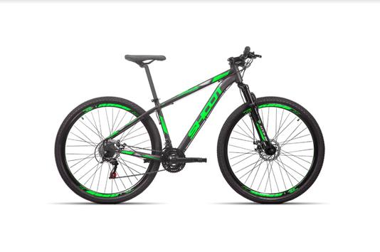 Bicicleta Shoot Rage Alumínio Aro 29 Freios À Disco 21V
