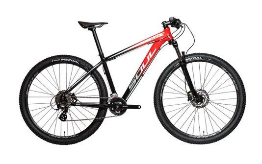 Bicicleta SL129 Tourney 24V 2021- Preto/Vermelho