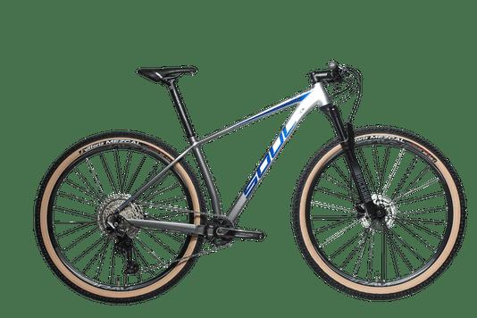 Bicicleta SL529 Soul Shimano Deore 12V Coroa 32 2021 - Degrade Prata/Chumbo
