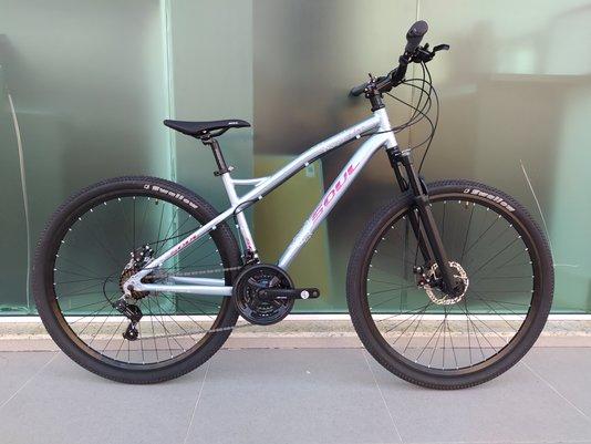 Bicicleta Soul Flower Alumínio Aro 29 Freio à Disco Mecânico - Cinza