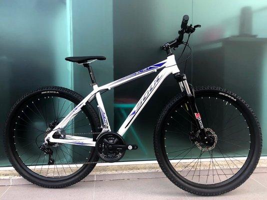 Bicicleta Soul SL127 Alumínio  Aro 29 Freio à Disco - Branca e Azul