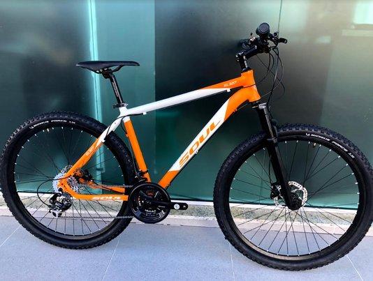 Bicicleta Soul Sl327 Alumínio Aro 29 Freios Hidráulicos -/Branco L/19