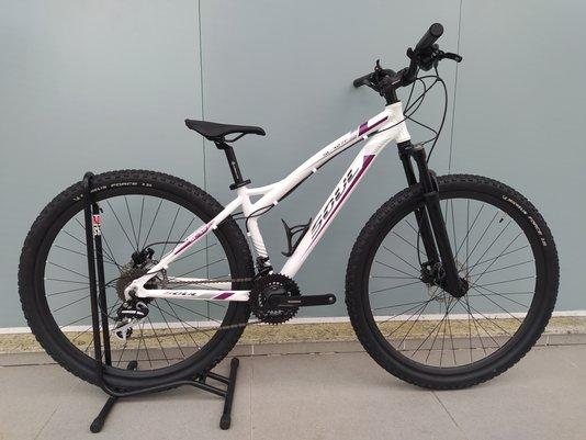 Bicicleta Soul Sl327f Aro 29 Freios Hidráulico 24V Branco/Roxo S/15