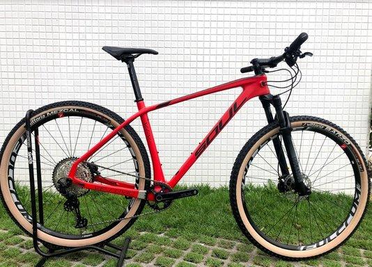 Bicicleta Vesuvio Soul Carbono Shimano Slx 12V Rodas Fulcrum 2021