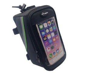 Bolsa de Quadro para Bicicleta com Compartimento para Celular