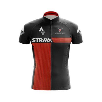 Camisa Ciclismo Black Cat Sport Wear Strava