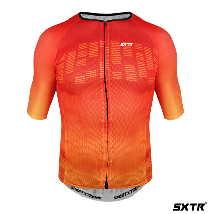 Camisa Ciclismo Summer Sportxtreme Escala Laranja