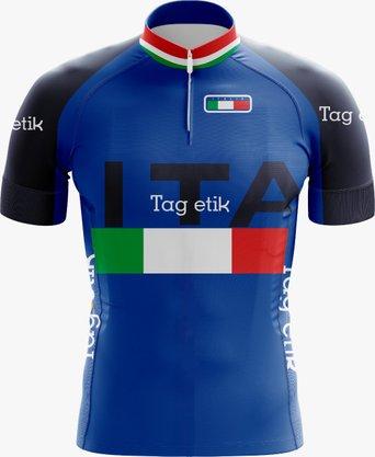 Camisa de Ciclismo Equipe Itália