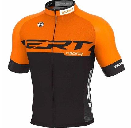 Camisa de Ciclismo ERT New Elite Racing - Laranja/Preto GG