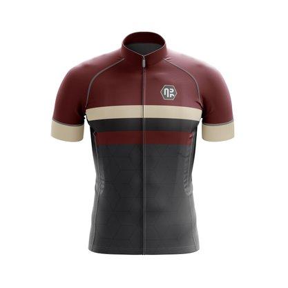 Camisa Ciclismo Gold Classic Wine Bordô
