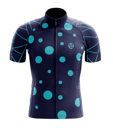 Camisa De Ciclismo Manga Curta Água Rara Sports Wear Gold Ball