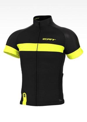 Camisa De Ciclismo Masculina Ert Classic Stripe Preta