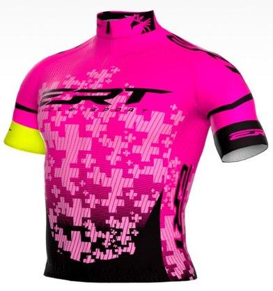 Camisa de Ciclismo New Elite ERT Team - Rosa