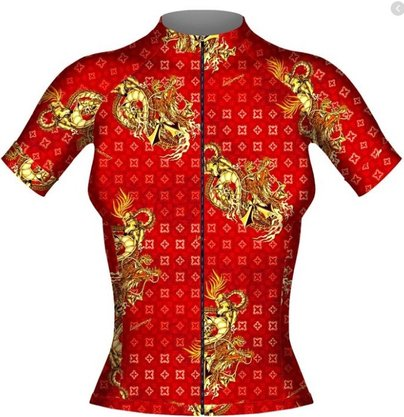 Camisa Manga Curta LaCarrera Dragão Chinês