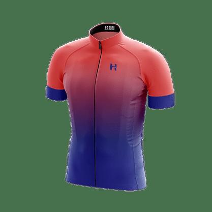 Camisa Masculina Basic Azul e Goiaba Agah