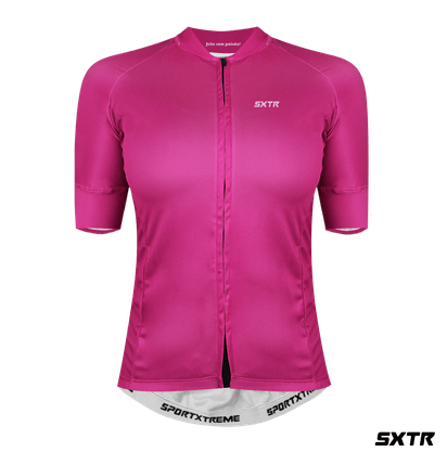 Camisa Slim Manga Curta Sport Xtreme Fucsia P