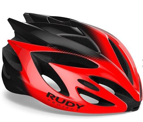Capacete Ciclismo Rudy Project Rush Vermelho E Preto M (54Cm-58Cm)
