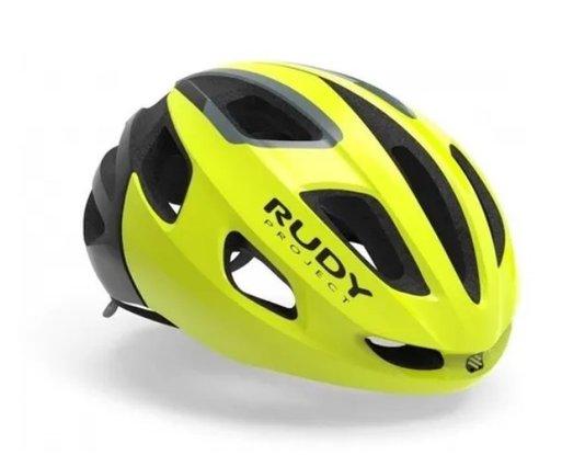 Capacete Ciclismo Rudy Strym Fluor Tam P/M 55-58cm P/M (55cm-58cm)