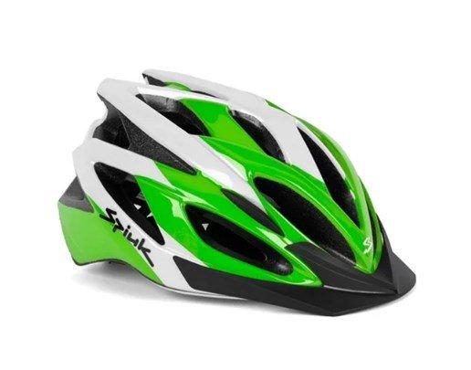 Capacete Ciclismo Spiuk Tam 58cm-62cm Tamera Lite Verde/Branco