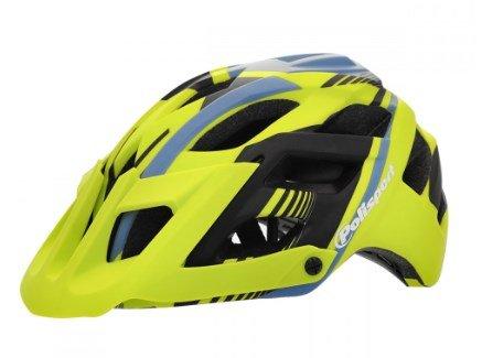 Capacete de Ciclismo Polisport E3 - Amarelo/Azul