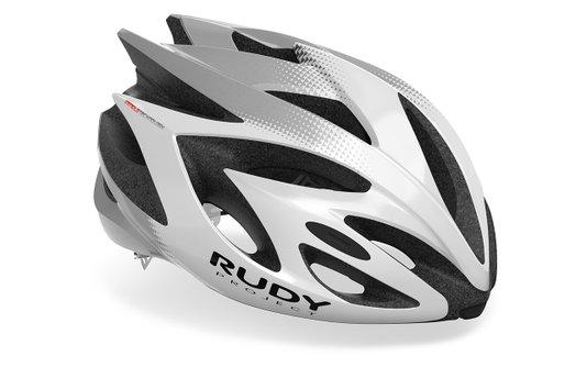 Capacete De Ciclismo Rudy Rush White
