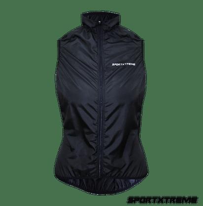 Colete Corta Vento Confort Sport Xtreme Preto