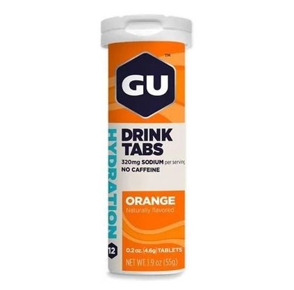 Efervescente Gu Energy Tabs - Orange 54g