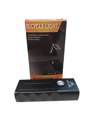 Farol de Bicicleta com Carregador USB