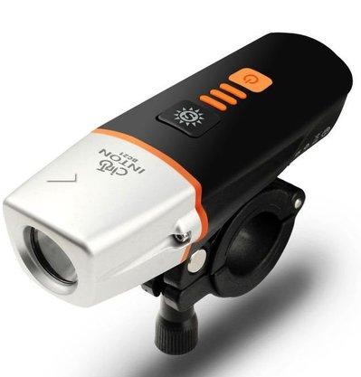 Farol Recarregável Luz Sensor 400 Lumens