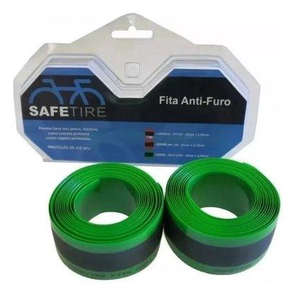 Fita Protetora Anti-Furo 35Mm Para Aro 26, 27,5 E 29 Verde