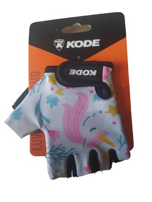 Luva De Ciclismo Infantil Kode Unicórnio