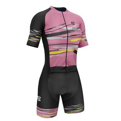 Macaquinho Ciclismo Água Rara Sports Wear