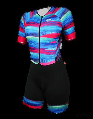 Macaquinho Ciclismo Feminino Sport Xtreme Sunset Expert