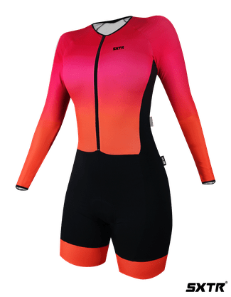 Macaquinho Ciclismo Manga Longa Sport Xtreme Solene P