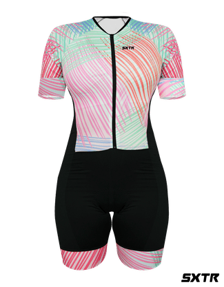 Macaquinho de Ciclismo Feminino Astiste Manga Curta SportXtreme G