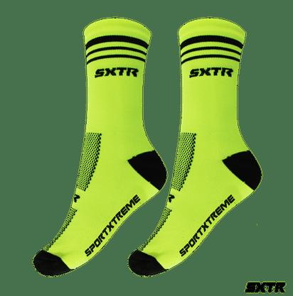 Meia SportXtreme Cano Médio - Verde/Preto 39 ao 43