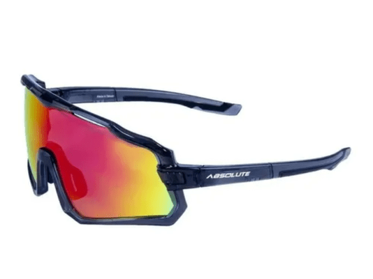 Óculos de Ciclismo Abs Wild Com Lente Vermelha