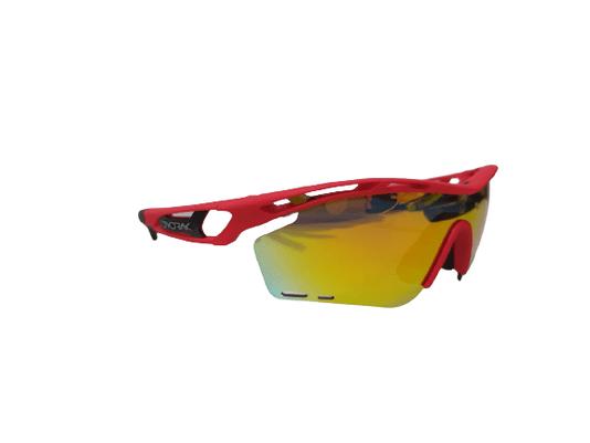 Óculos De Ciclismo Devorak One Com 3 Lentes -/Fosco