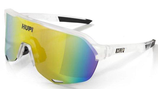 Óculos de Ciclismo HUPI Huez Cristal/Preto - Lente Dourado Espelhado