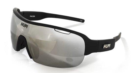 Óculos de Ciclismo HUPI Pacer Preto - Lente Cinza Espelhado
