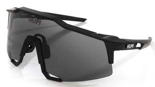 Óculos de Ciclismo HUPI Stelvio Preto - Lente Fume